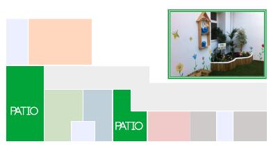 Plano General del Centro de Educación Infantil Pasito a Pasito de Valencia